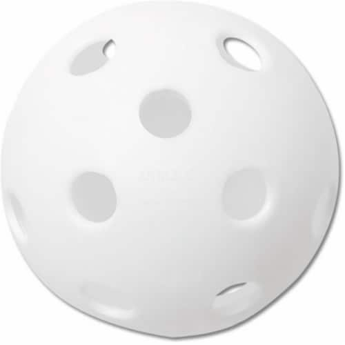 Plastic Training Ball 12 Inch Softball Perspective: front