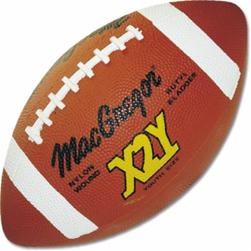 MacGregor X2Y Youth Football - Rubber Perspective: front