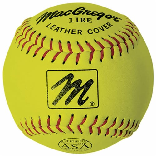 MacGregor 1280517 11 in. X44RE ASA Slow Pitch Softball Perspective: front