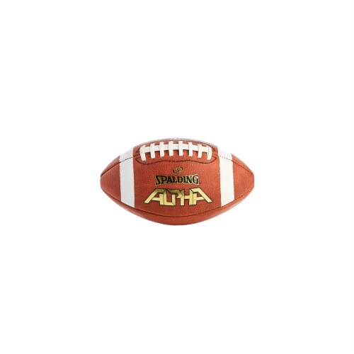 Spalding WC726338 Autograph Butyl Rubber Bladder Football Perspective: front