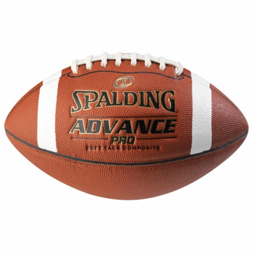 Spalding WC726548 Advance Pro Football - Official Size Perspective: front