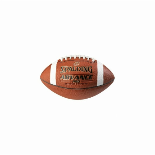 Spalding WC726858 Advance Pro Composite Football - Youth Size Perspective: front