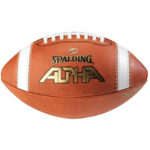 Spalding WC726758 Alpha Official Size Football Perspective: front