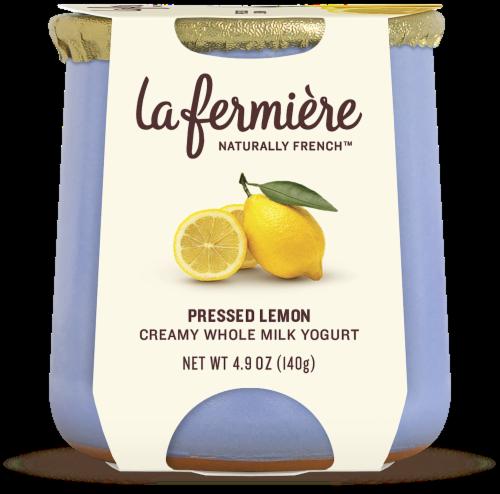 La Fermiere Pressed Lemon Yogurt Perspective: front