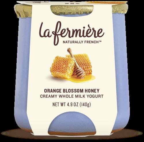La Fermiere Orange Blossom Honey Yogurt Perspective: front