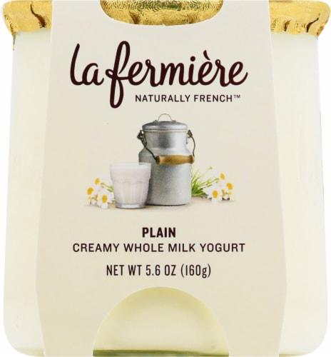 La Fermiere Plain Yogurt Perspective: front