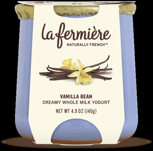 La Fermiere Vanilla Bean French Yogurt Perspective: front