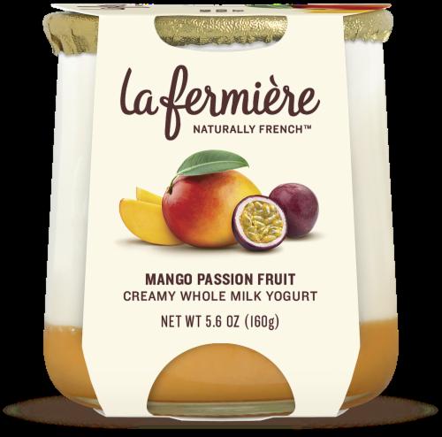 La Fermiere Mango Passion Fruit Yogurt Perspective: front