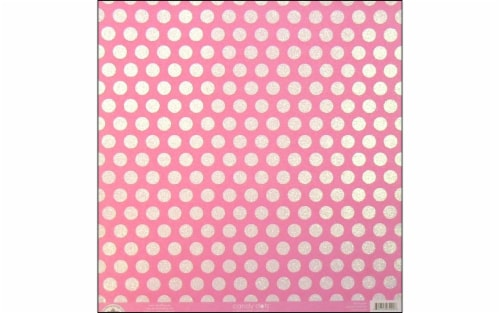 Doodlebug Paper 12x12 Candy Dots Cupcake Perspective: front
