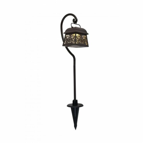 Living District LDOD3011-4PK Outdoor Brown LED 3000K Pathway Light - Pack of 4 Perspective: front