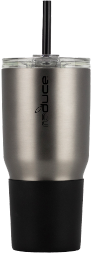 Reduce COLD-1 Matte Tumbler - Charcoal Perspective: front