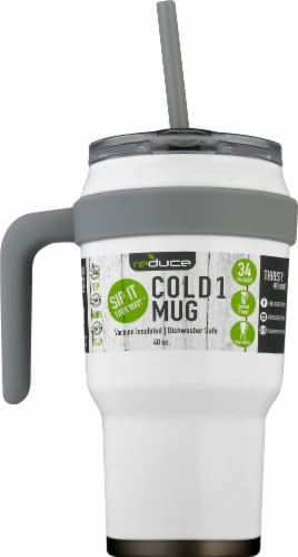 Reduce COLD-1 Mug - White Perspective: front