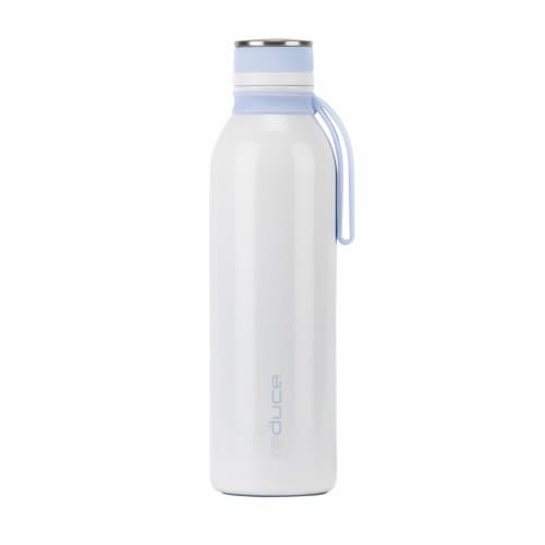 Reduce Hydro Pro Bottle with Carry Strap - White Perspective: front