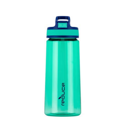 Reduce Axis Bottle - Aqua Perspective: front