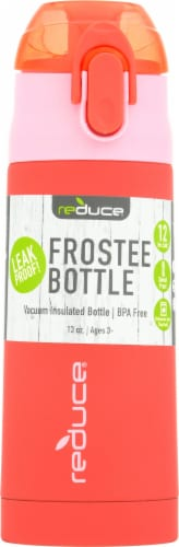 Reduce Frostee Bottle - Pink Perspective: front