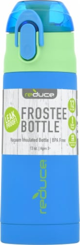 Reduce Frostee Bottle - Blue Perspective: front