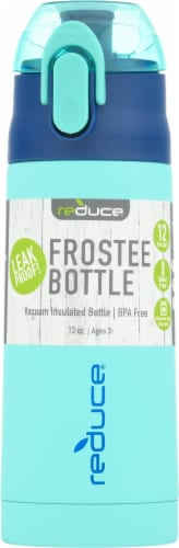 Reduce Frostee Bottle - Aqua Perspective: front