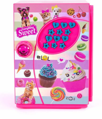 Hot Focus Piggy Bank - Sweet Crush Digital Money Safe Toy Bank with Electronic Password Lock Perspective: front