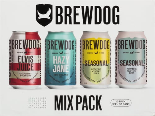BrewDog Mixed Pack Beer Perspective: front