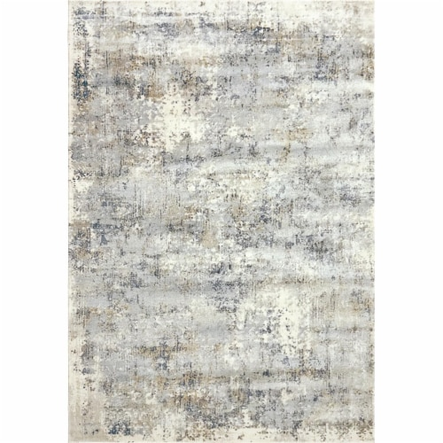 Dynamic Rugs CC7103536190 6 ft. 7 in. x 9 ft. 6 in. Castilla 3536 Rectangle Modern Area Rug - Perspective: front