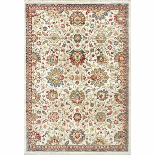 Dynamic Rugs JN7106883130 6 ft. 7 in. x 9 ft. 2 in. Juno 6883 Rectangle Transitional Area Rug Perspective: front