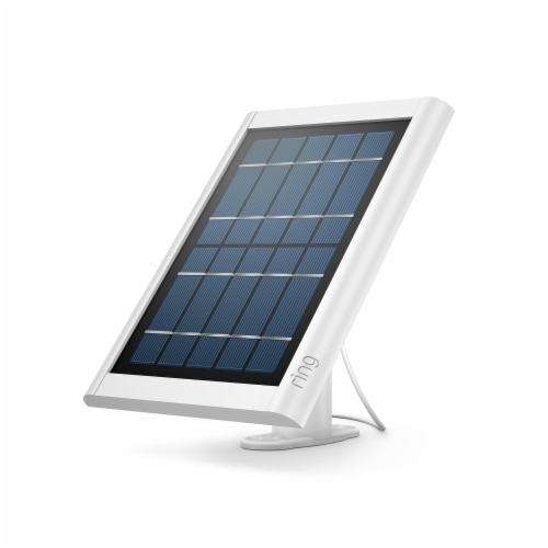 Ring™ Spotlight Solar Panel - White Perspective: front