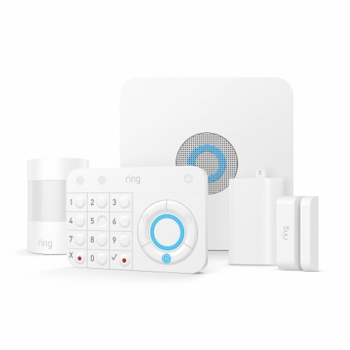 Ring™ Alarm Home Security Kit - White Perspective: front
