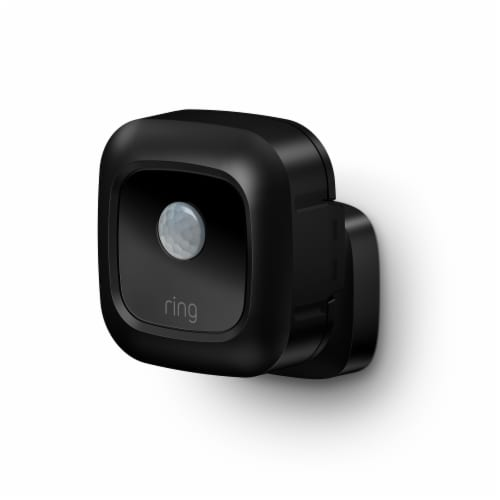 Ring™ Smart Lighting Battery Motion Sensor - Black Perspective: front