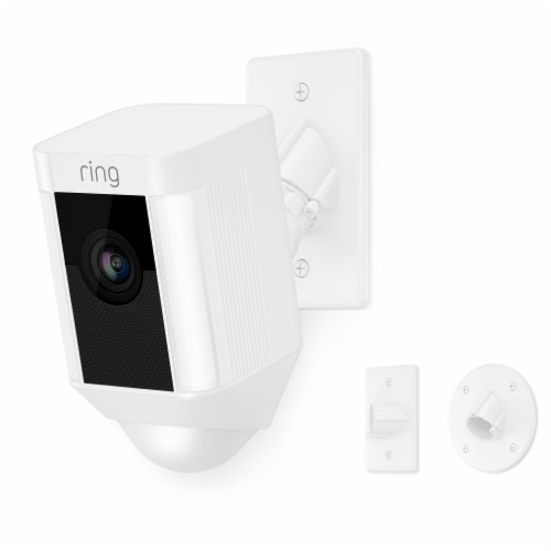 Ring™ Spotlight Camera Mount Security Camera - White Perspective: front