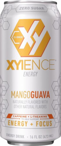 Xyience Energy Mango Guava Energy Drink Perspective: front