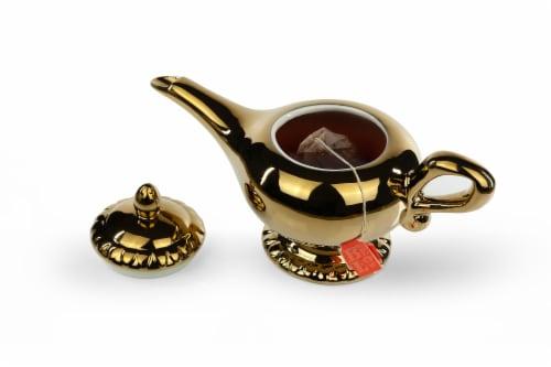 Disney Aladdin Genie Lamp 32oz Ceramic Teapot Perspective: front