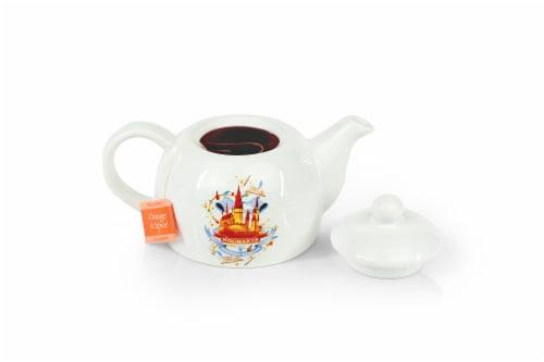 Harry Potter Hogwarts Mini Porcelain Teapot 5oz Perspective: front