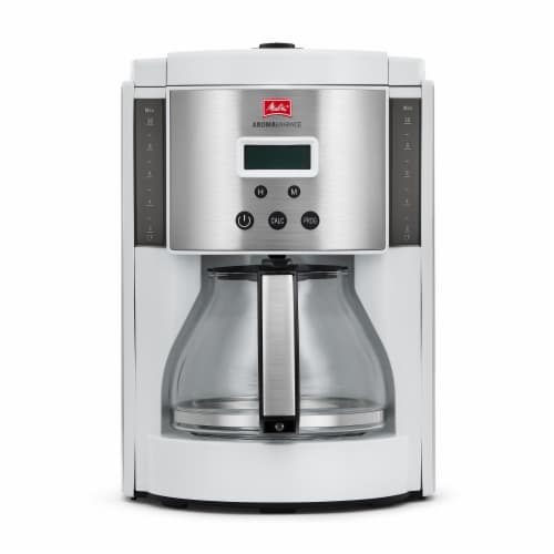 Melitta 10 Cup Coffee Maker with Glass Carafe Perspective: front