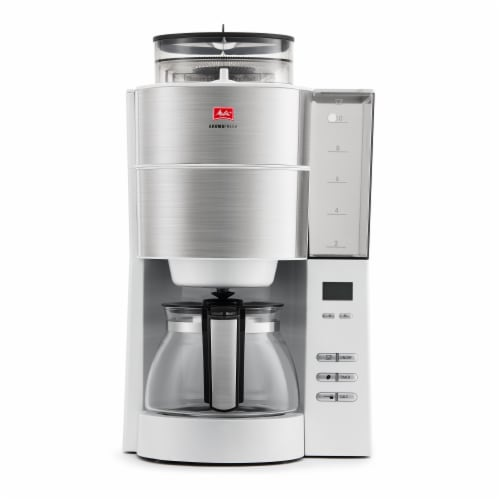 Melitta Drip Coffee Maker with Coffee Grinder Perspective: front