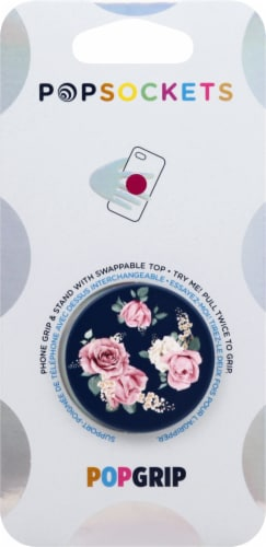 PopSockets Phone Grip and Stand - Vintage Perfume Perspective: front