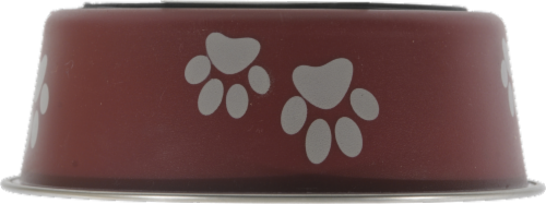 Loving Pets Small Merlot Bella Bowl Perspective: front