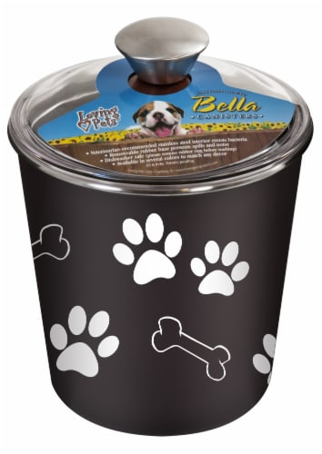 Bella Treat Canister - Espresso Perspective: front