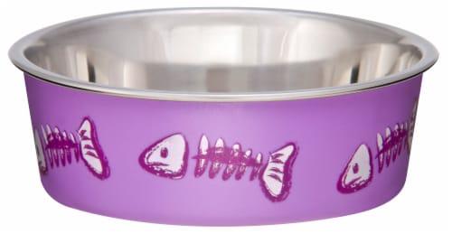 Bella Bowls XS Cat Bowl - Lilac Perspective: front