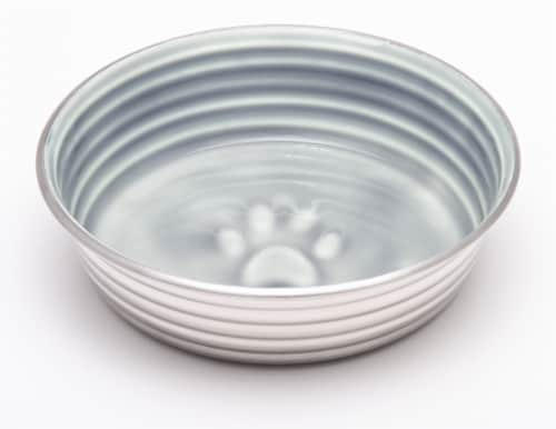 Le Bol Large Pet Bowl - Parisian Grey Perspective: front