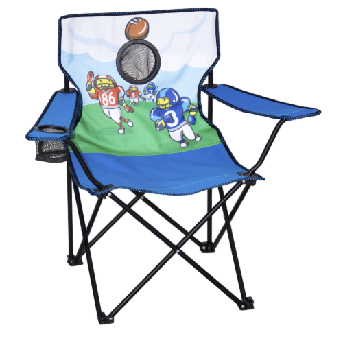 Kings River Youth Football Game Chair Perspective: front