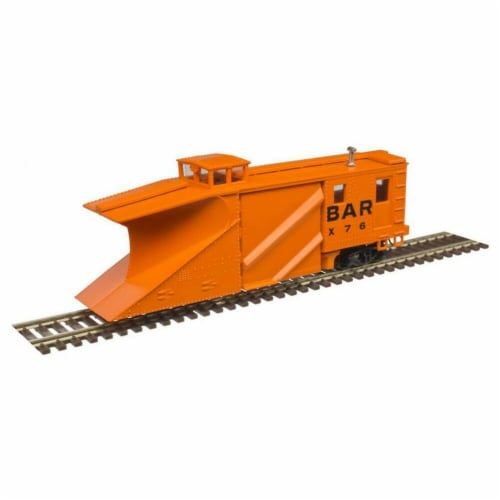 Atlas ATL50005132 N Russell Snow Plow Bangor & Aroostook X76 Model Train Perspective: front