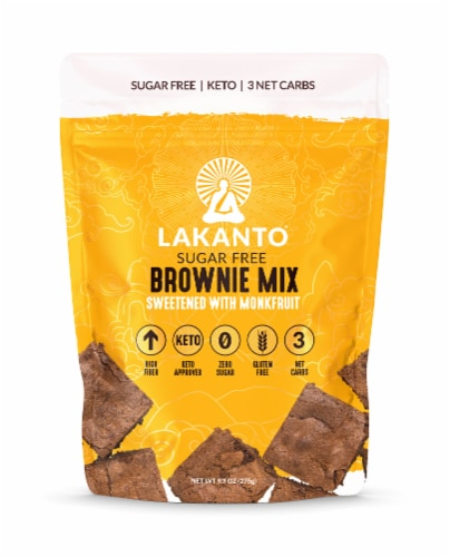 Lakanto Sugar Free Brownie Mix Perspective: front