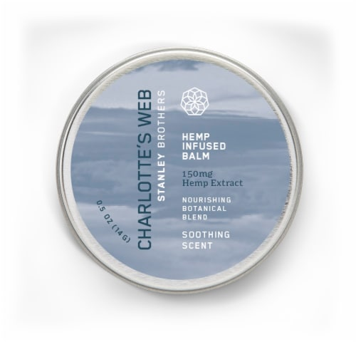 Charlotte's Web Soothing Scent Hemp Infused Balm AVAILABILITY LIMITED TO PHARMACY HOURS Perspective: front
