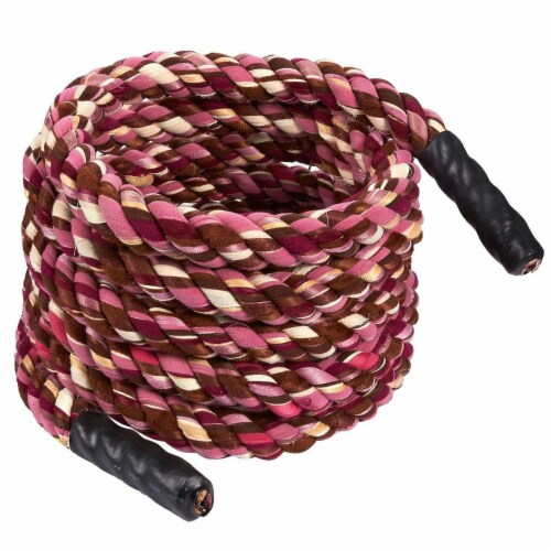 20 Ft Tug of War Rope, Thick Rope for Outdoor, Sport  Party Game, vary in Color Perspective: front