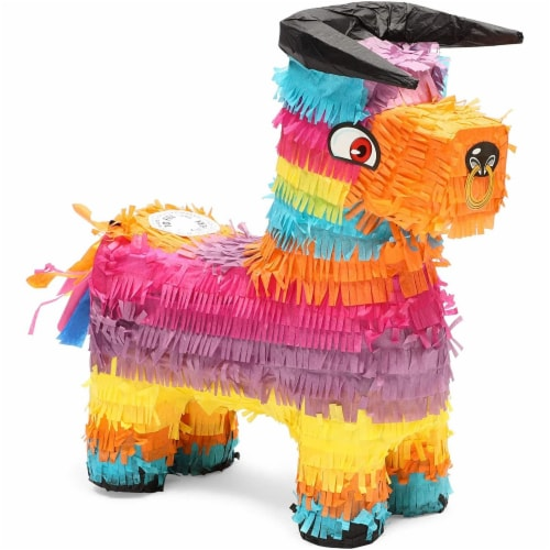 Bull Piñata for Kids Birthday Party or Cinco De Mayo (14.5 x 12 x 4.8 in) Perspective: front