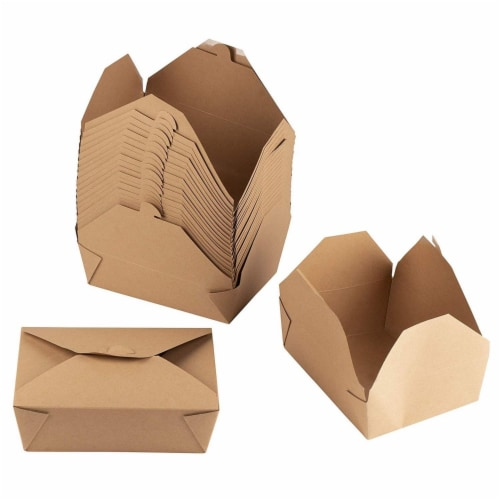 50 Kraft  Boxes filled with cotton  7-18 x 5-18 x 1-18H   Works great for photography presentation