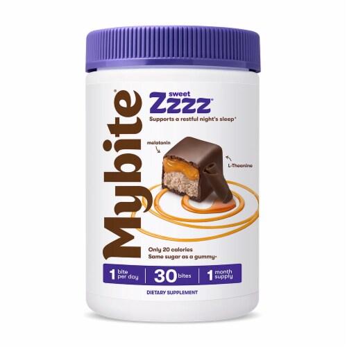 MyBite Vitamins Sweet Zzzz Melatonin Dietary Supplement Perspective: front