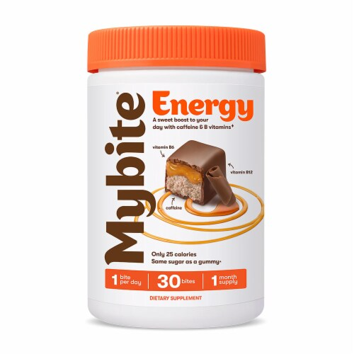 MyBite Vitamins Energy Dietary Supplement Perspective: front