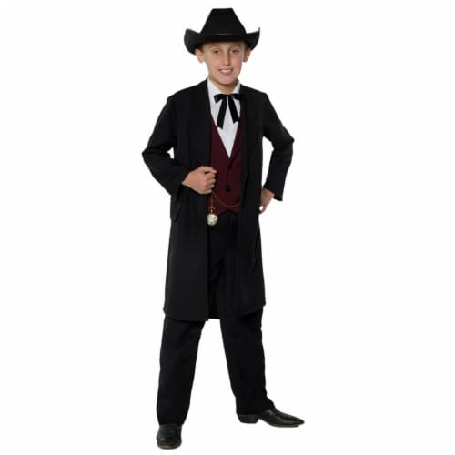Morris Costumes UR27575SM Gambler Child Costume, Small 4-6 Perspective: front