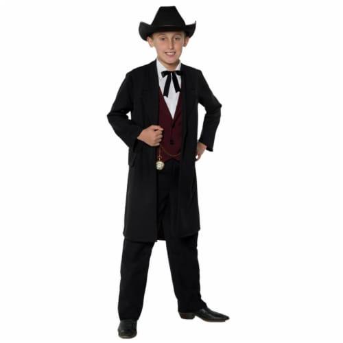 Morris Costumes UR27575LG Gambler Child Costume, Large 10-12 Perspective: front